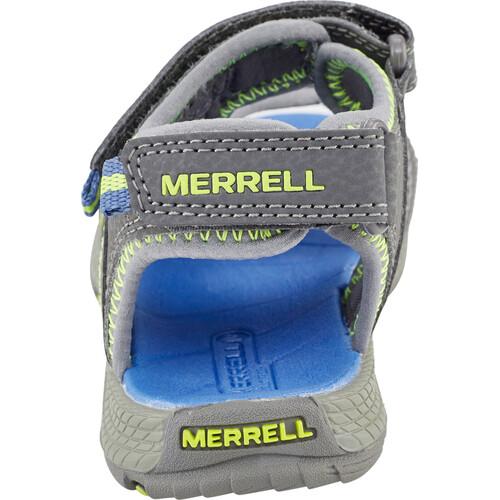 Merrell Panther - Sandales Enfant - gris sur campz.fr ! Réduction Offres FR39cDP7Qk